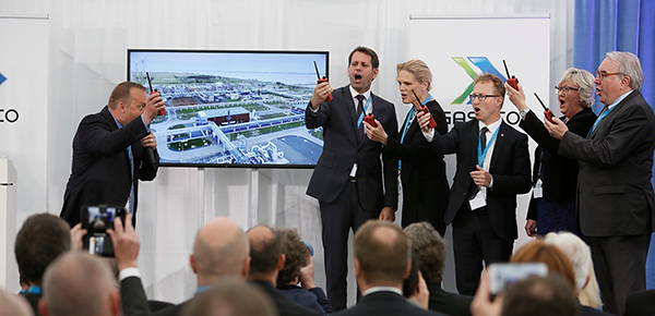 New German terminal for Norwegian gas
